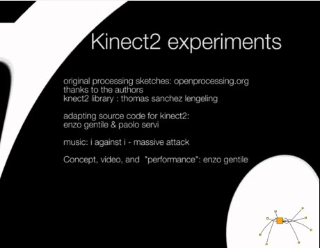Girona (Spain): Kinect V2 and processing experiments – enzo gentile